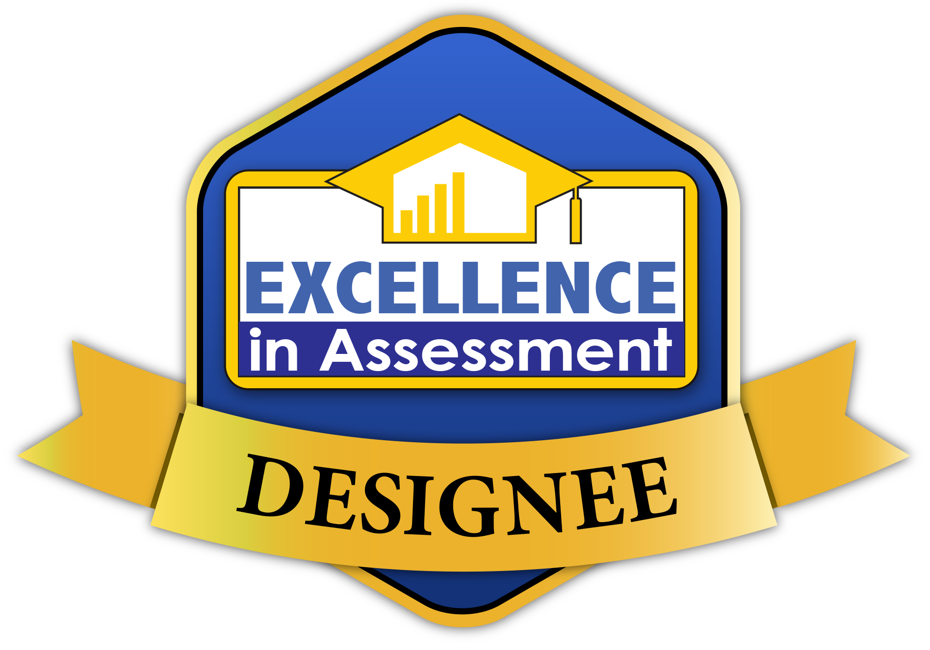 Excellence in Assessment Designee badge
