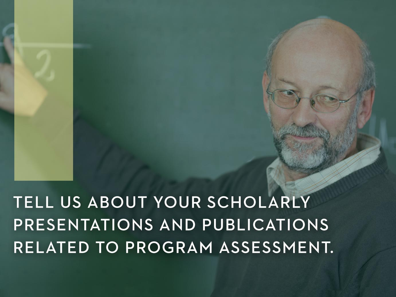 Tell us about your Wayne State scholarly presentation and publications related to assessment