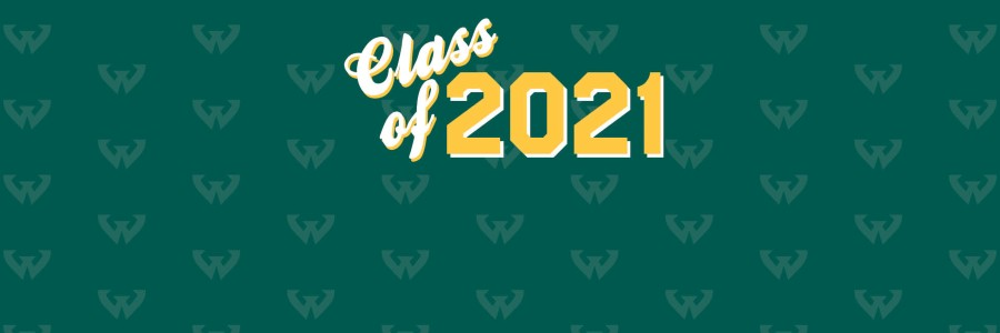 Green background with Class of 2020 text