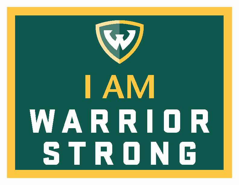I am Warrior Strong sign