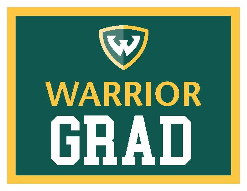 Warrior Grad sign