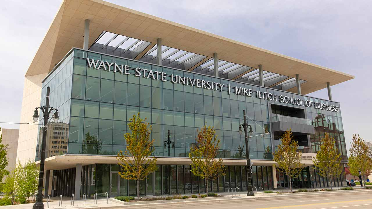 Mike Illitch School of Business building