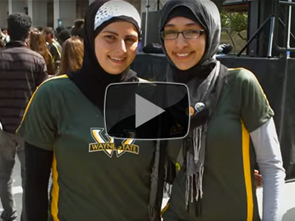 Her Story: An intimate look at the experiences of female Muslim students at Wayne State University