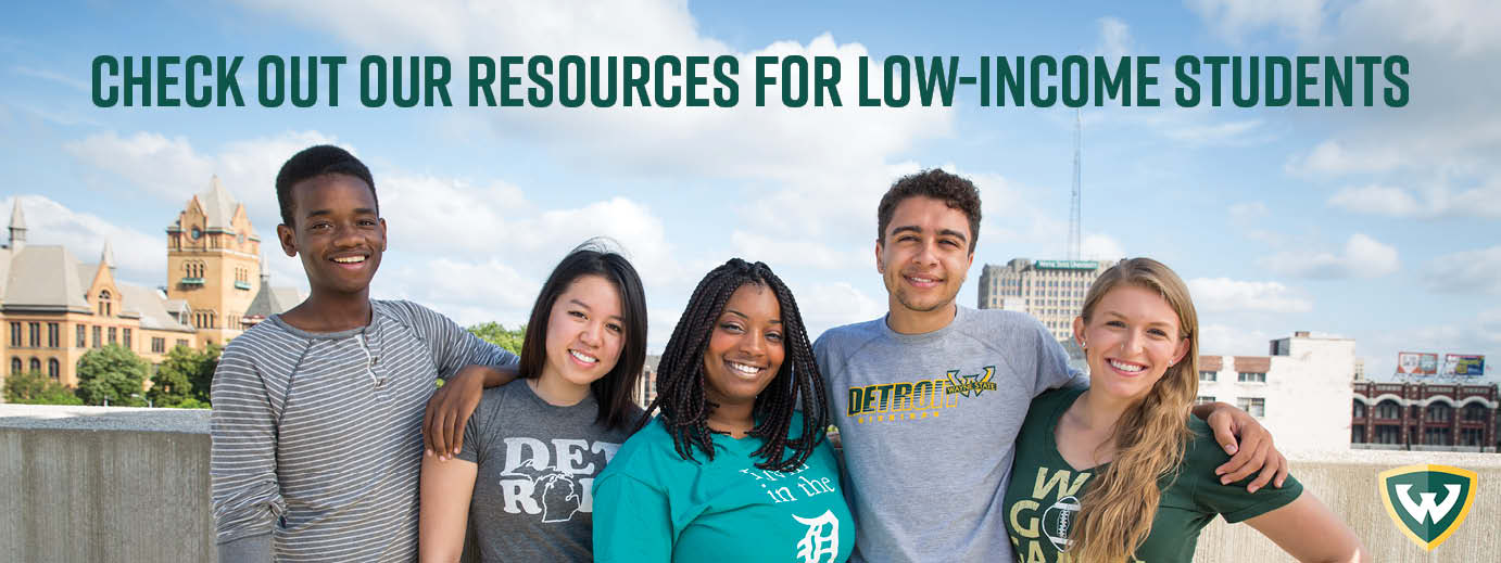 Resources for low-income students