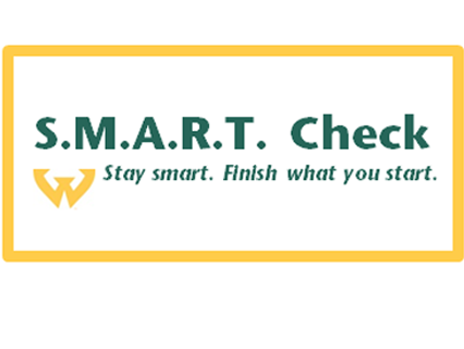 Complete your SMART Check before you change your schedule