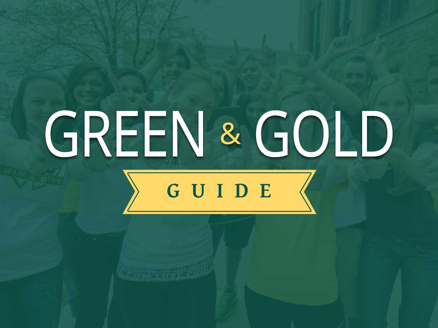 View the Green & Gold Guide