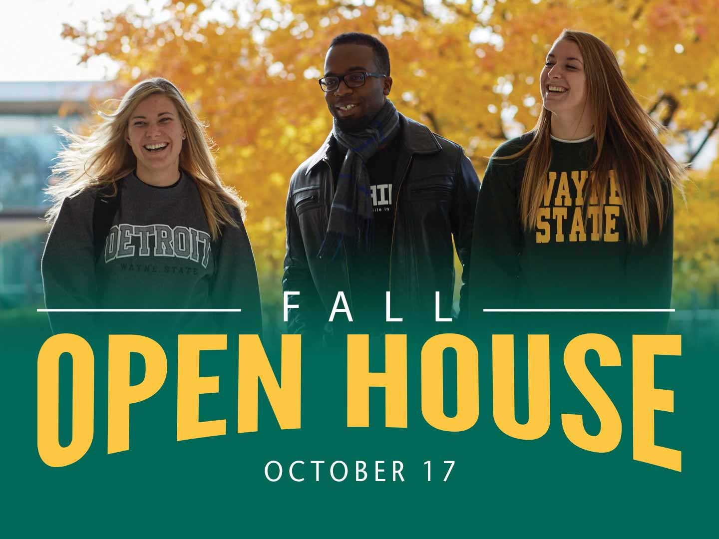Explore your academic interests and learn more about Wayne State.