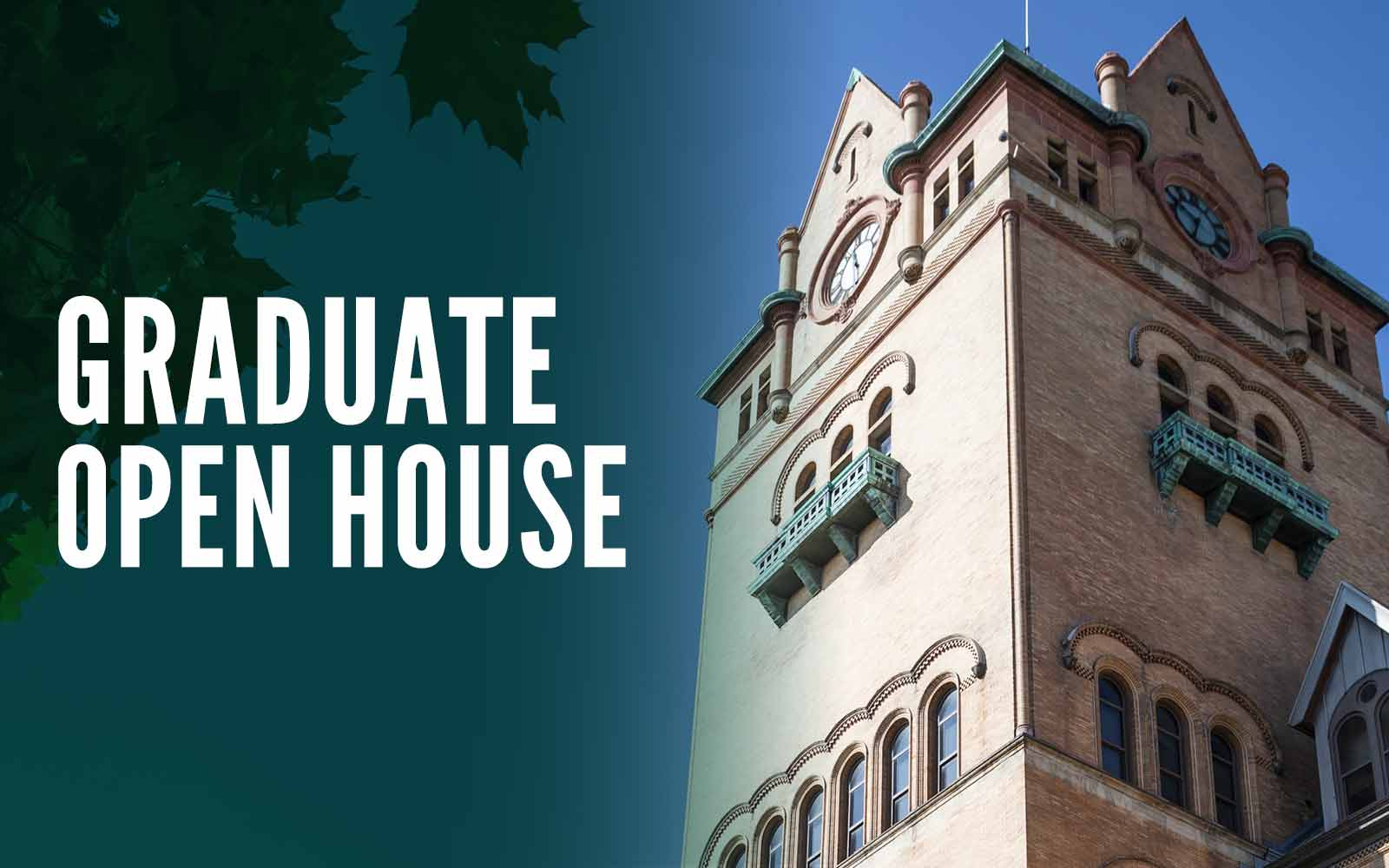 Learn more about advancing your education and career at our Graduate School.
