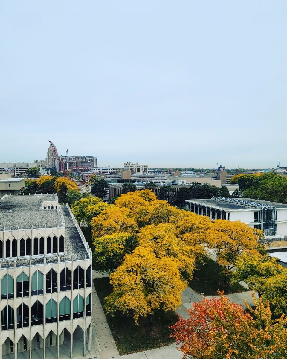 Color changes and campus views are unmatched!