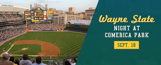 Wayne State Night 2018 at Comerica Park