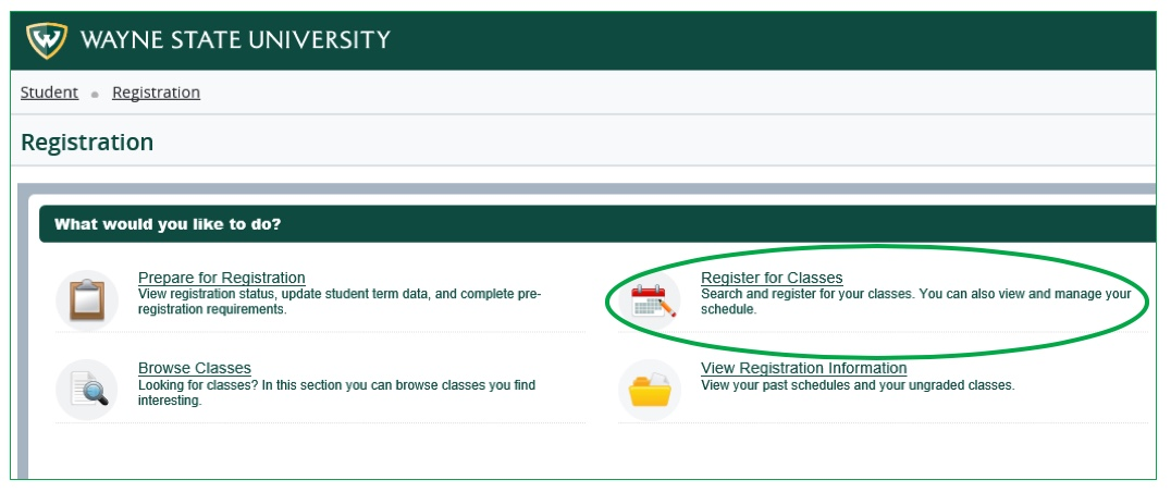 How to register - Office of the Registrar - Wayne State