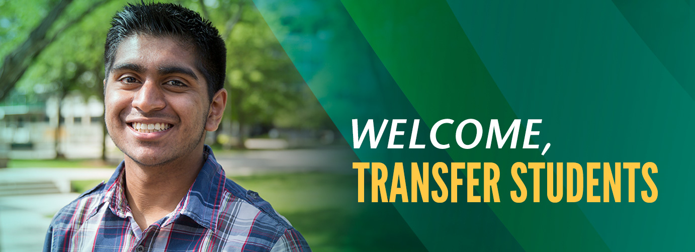 Welcome, transfer students!