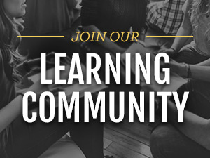 Join our learning community