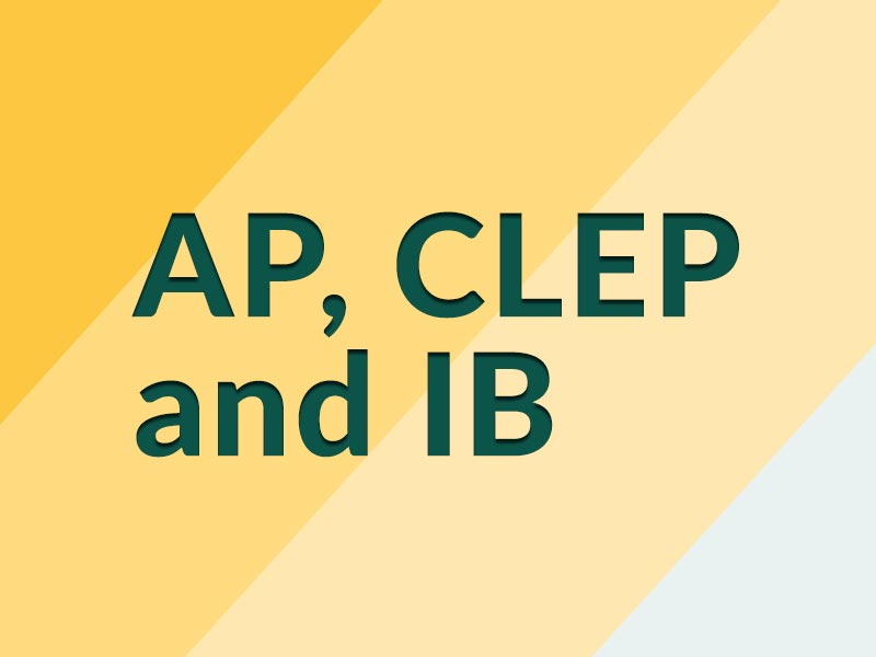 AP, CLEP and IB